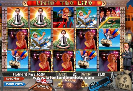 Livin' the Life slot