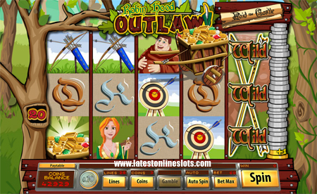 Robin Hood Outlaw slot