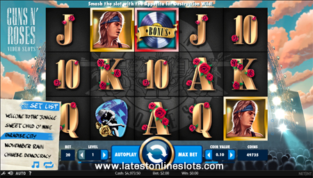 Rock it out on the Guns N Roses slot! - Mobil6000