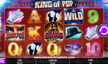 Michael Jackson - King of Pop slot