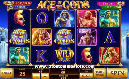 age of gods online casino