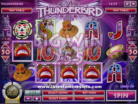 Thunderbird slot
