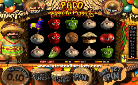 Paco & the Popping Peppers slot