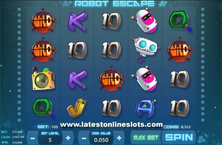 Robot Escape slot