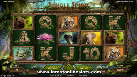 Jungle Spirit: Call of the Wild Slots - Play it Now for Free