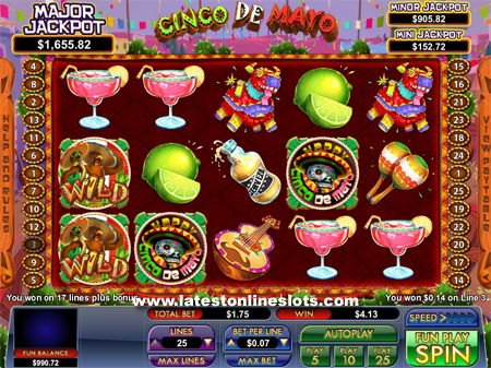 Cinco de Mayo slot