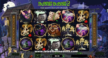 Bubble Bubble 2 slot
